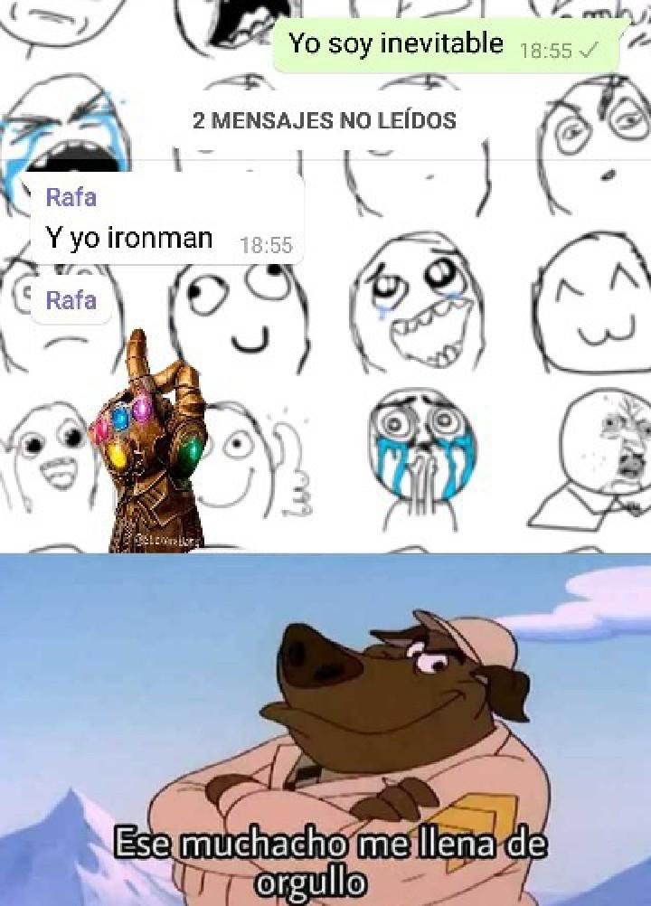 Contiene un ligero Spoiler - meme