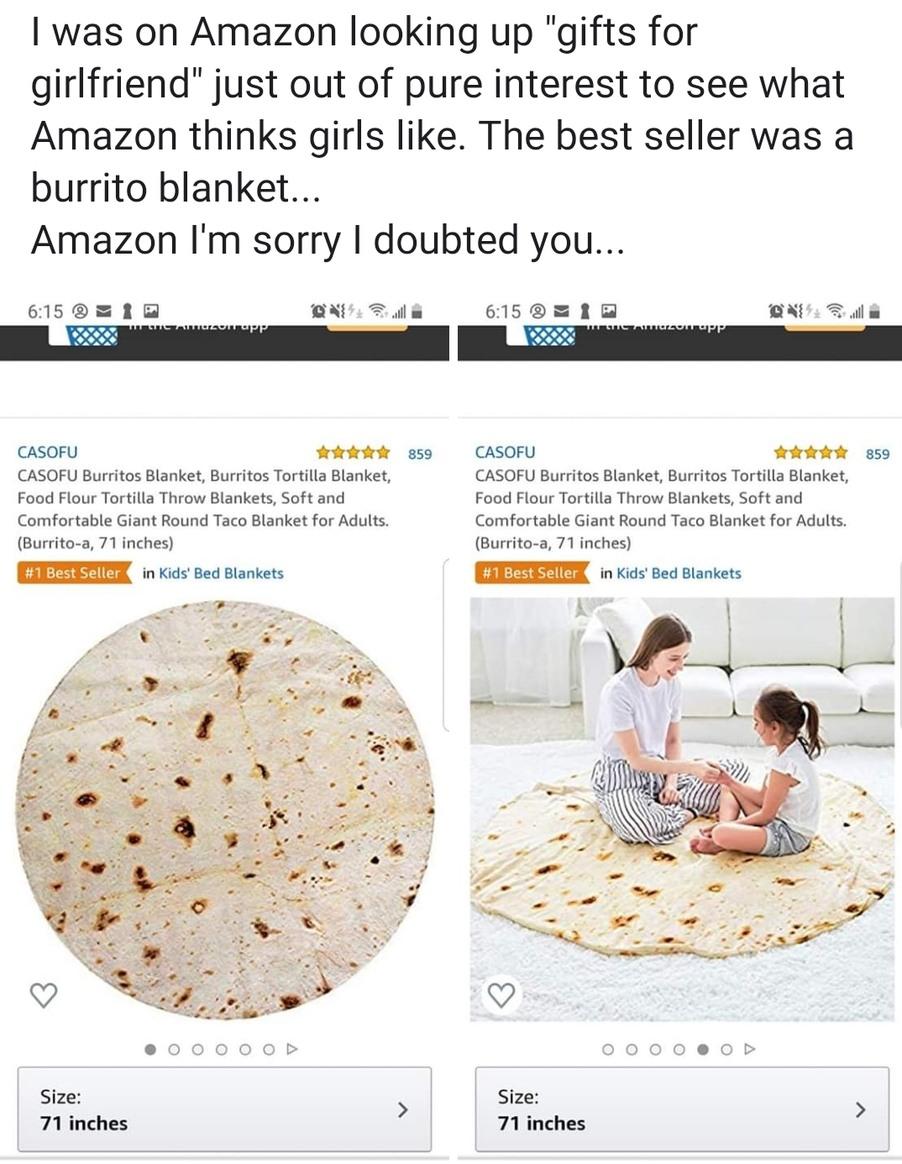 Amazon never lets me down... - meme