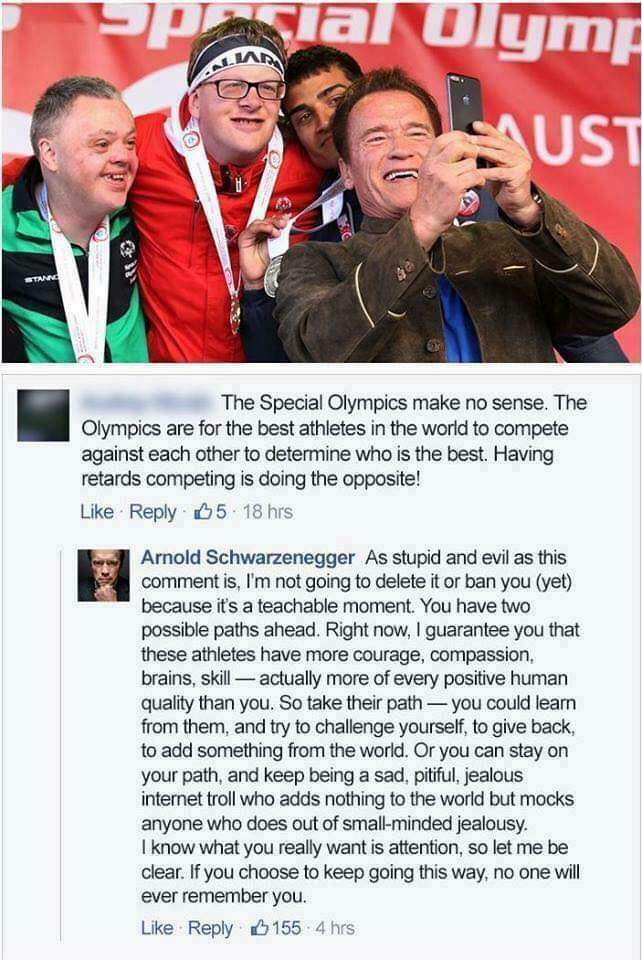 Arnie the best - meme