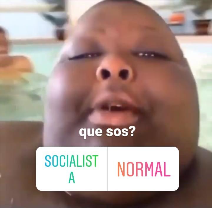 socialistA - meme
