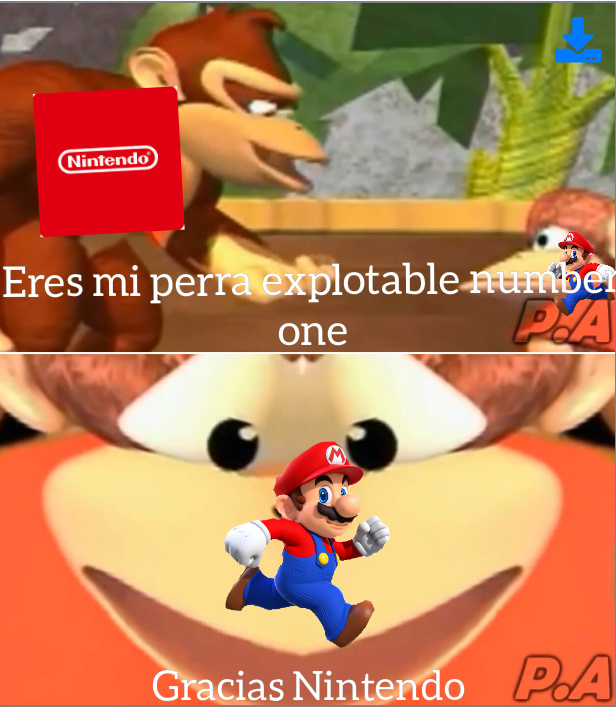 Nintendo Sobreexplota a Mario hay que admitirlo :v - meme