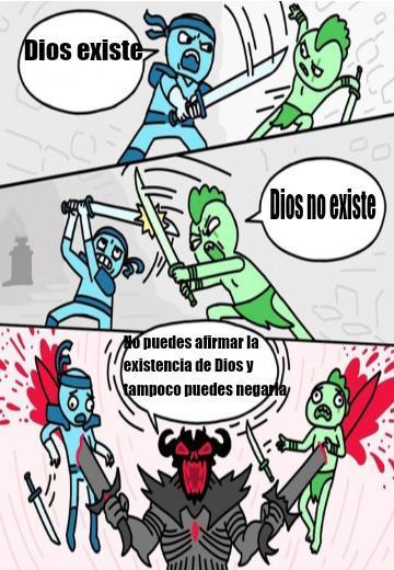 Agnostico wins - meme