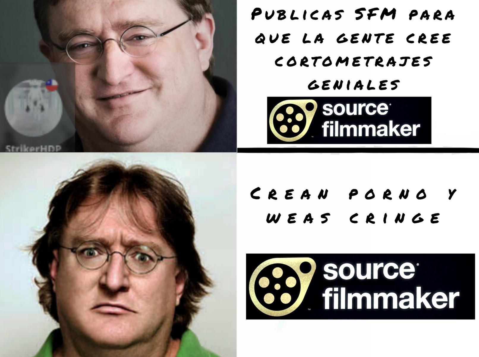 Que pena por Gabe Newell - meme