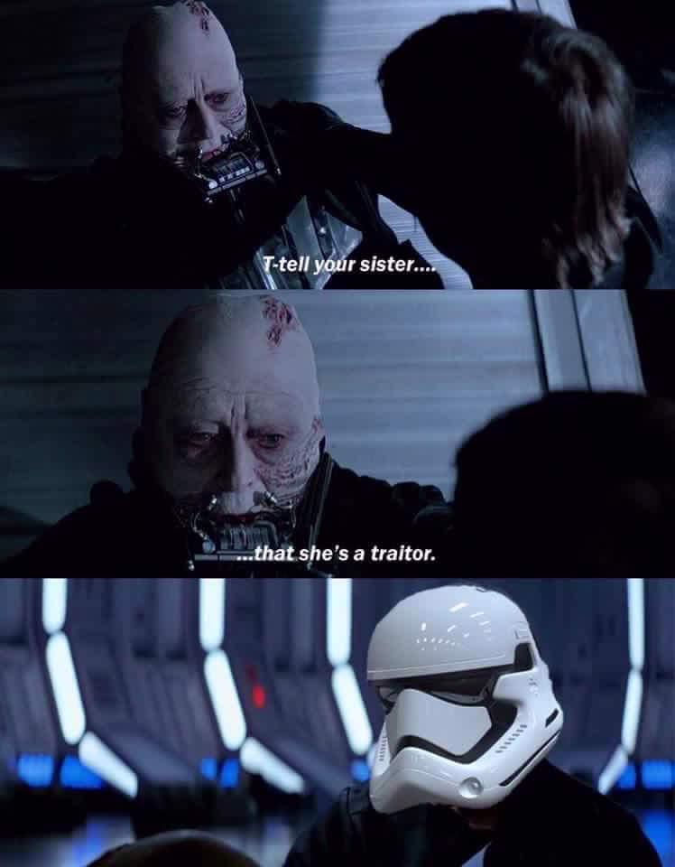 Traidor - meme