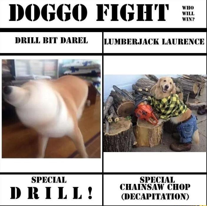 I got the lumberjack - meme