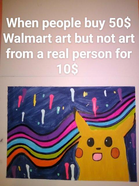 Real artist:  - meme