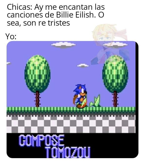 El final malo de Sonic 2 de Master System es te triste Ché. - meme