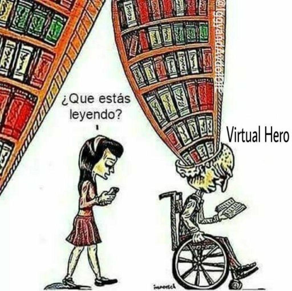 De k trata virtual hero? - meme