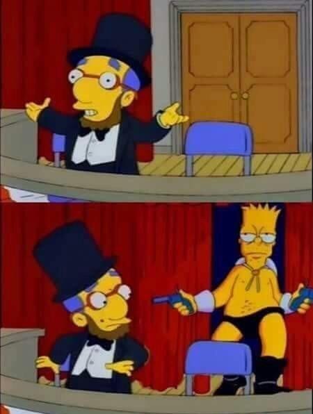 !Oh no ! !Es Bang Bang Bart! - meme