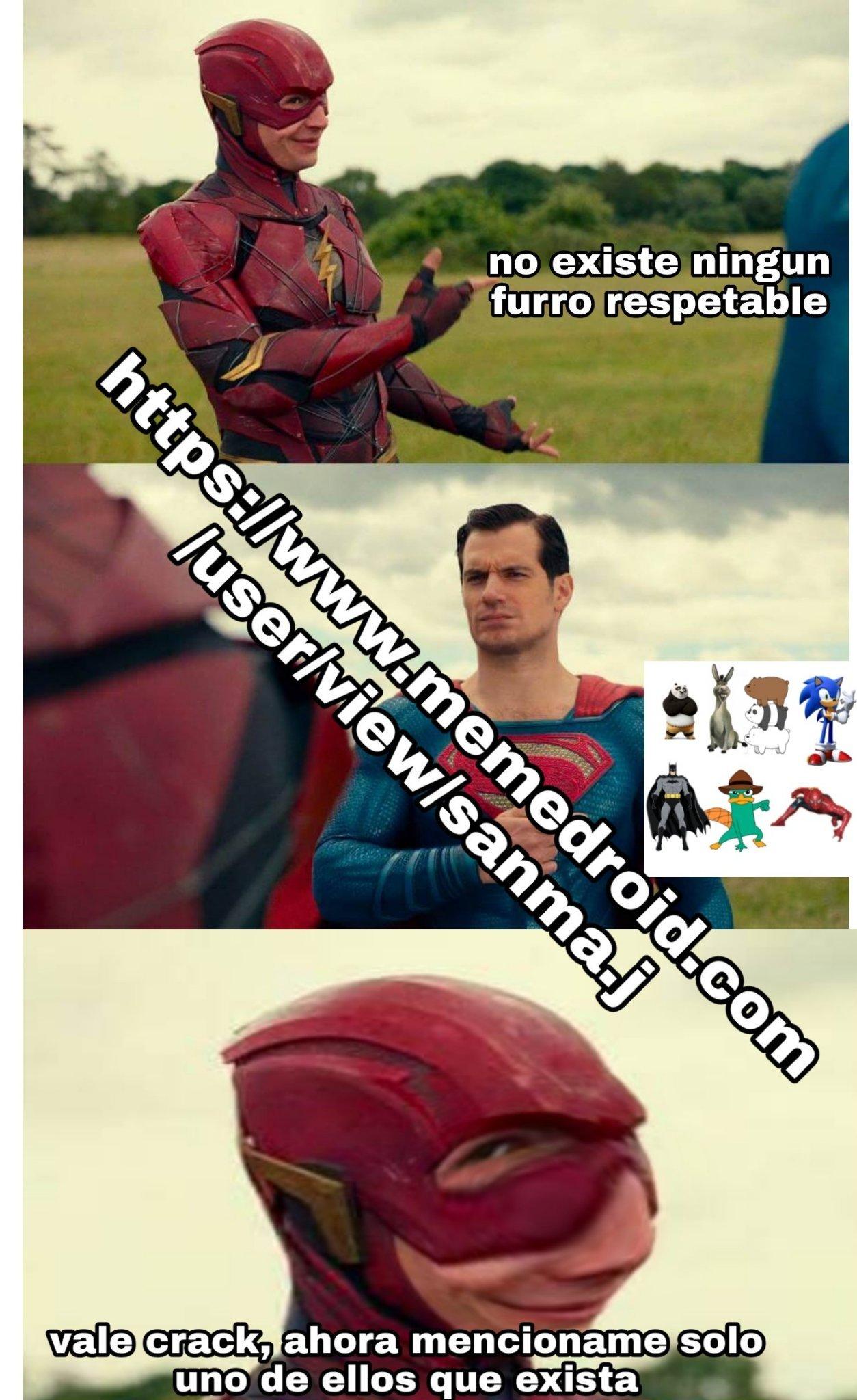 No existen los furros respetables - meme