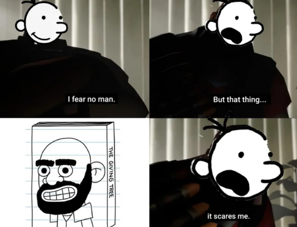 If you get out of bed again tonight, you'll probably run into Shel Silverstein in the hallway - meme