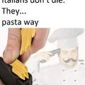 spaghetti is good