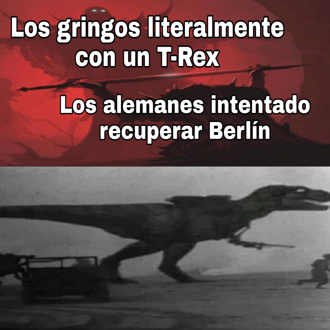 T-Rex táctico - meme