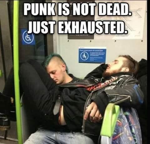 Punk af - meme