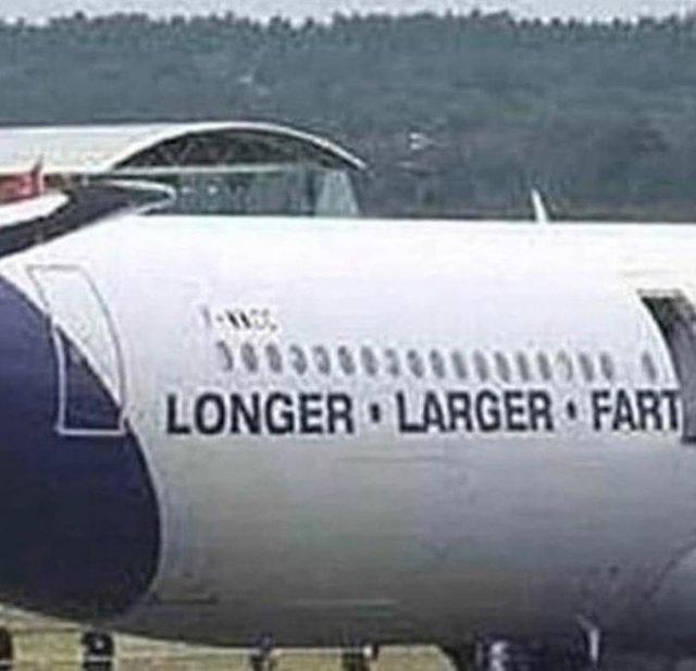 Longer larger fart - meme
