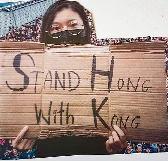 Stand Hong with Kong - meme