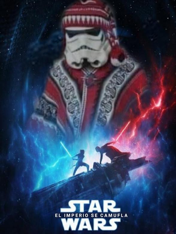 Star Wars IX, by Evo Morales - meme
