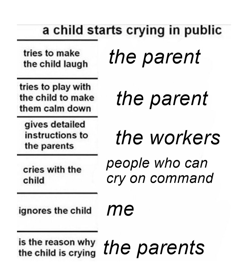 parents am i right - meme