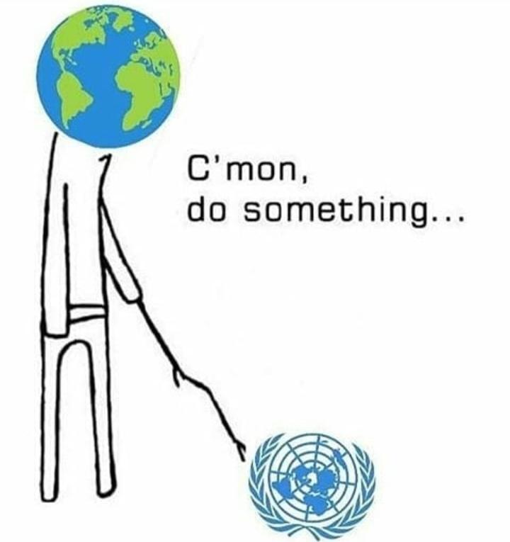 Haz algo por lo menos cagada de organización - meme