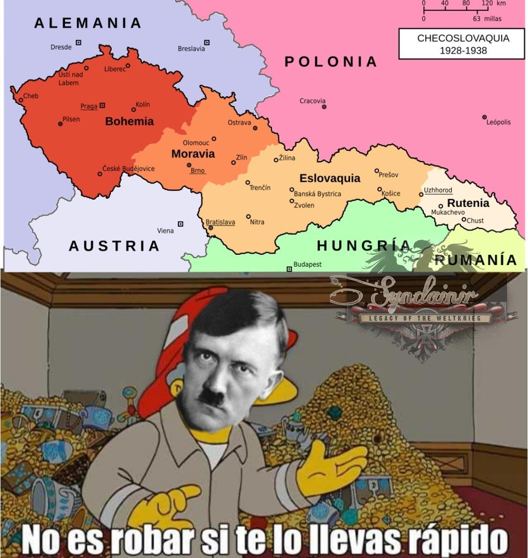 Cuestión de los Sudetes - meme