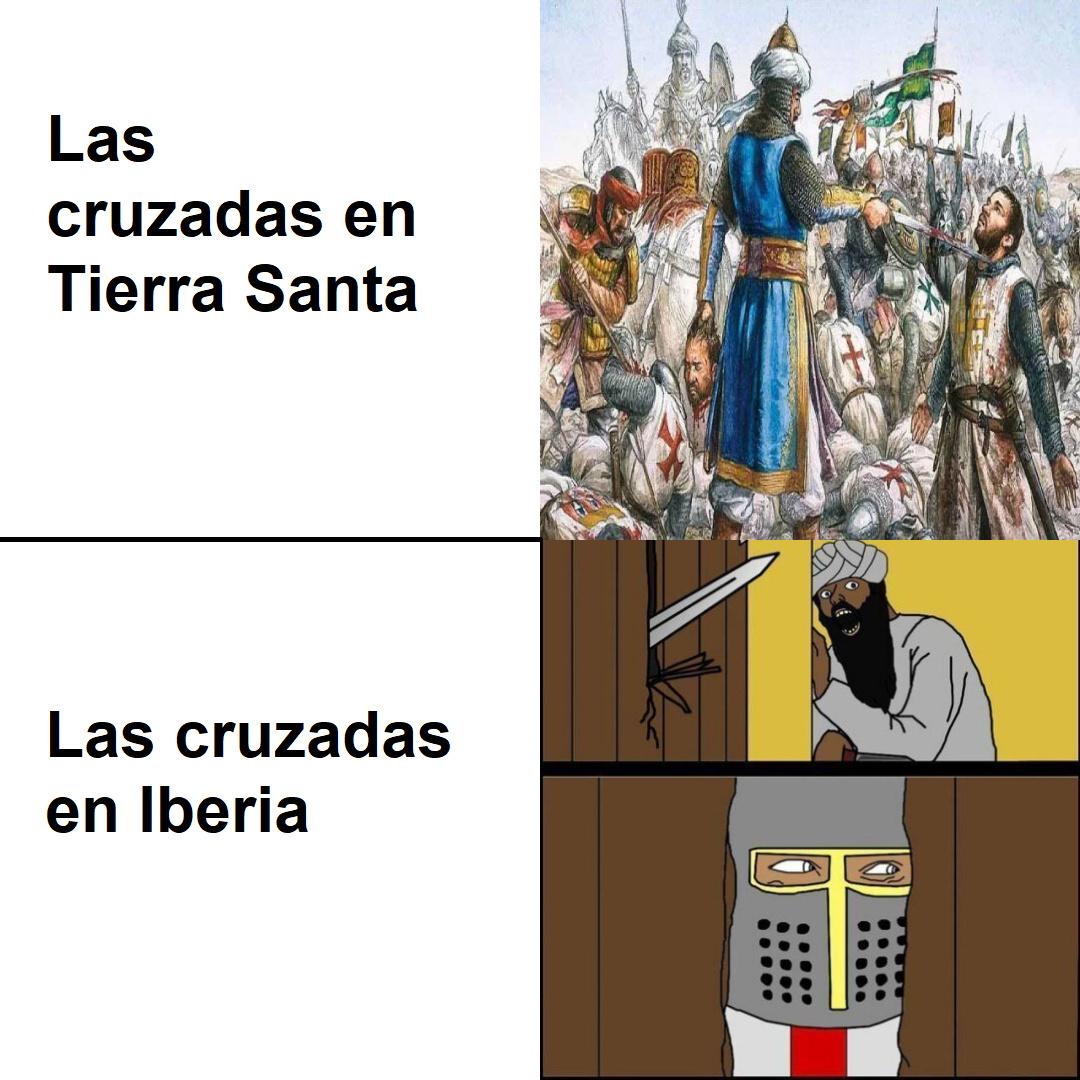 Las cruzadas - meme