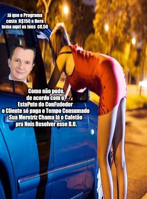 Patrulha do ConFudedor com PrecoCelso CuckoMano... Bitch - meme