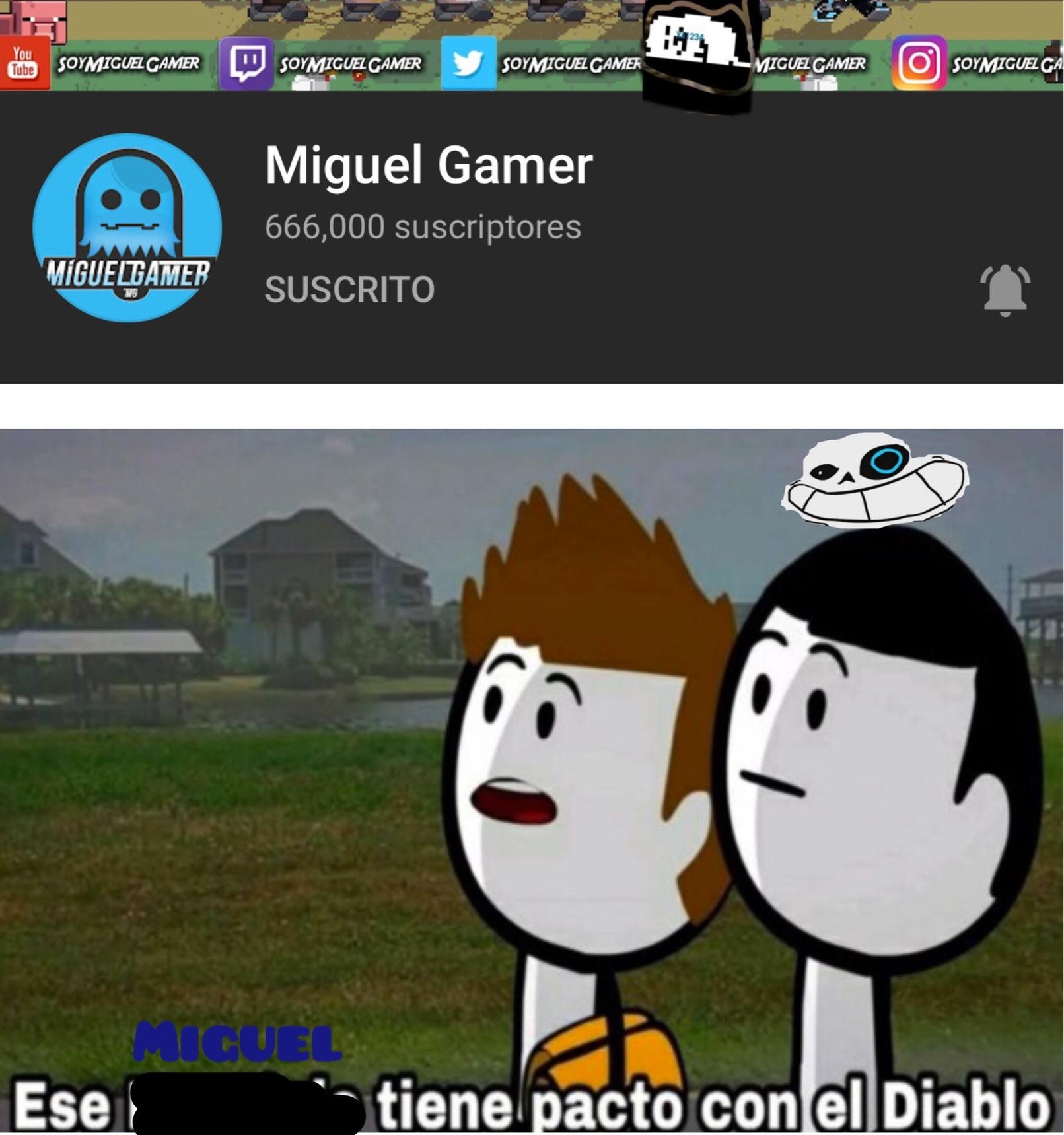 muchos memes de Miguel no?