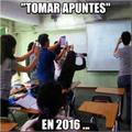 Yo en clase