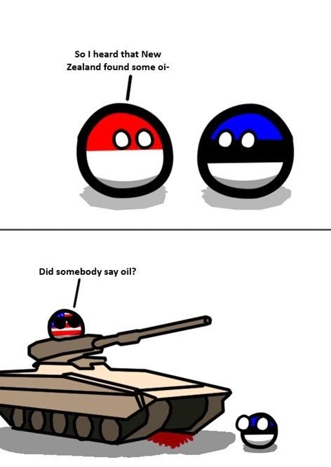 I cum oil