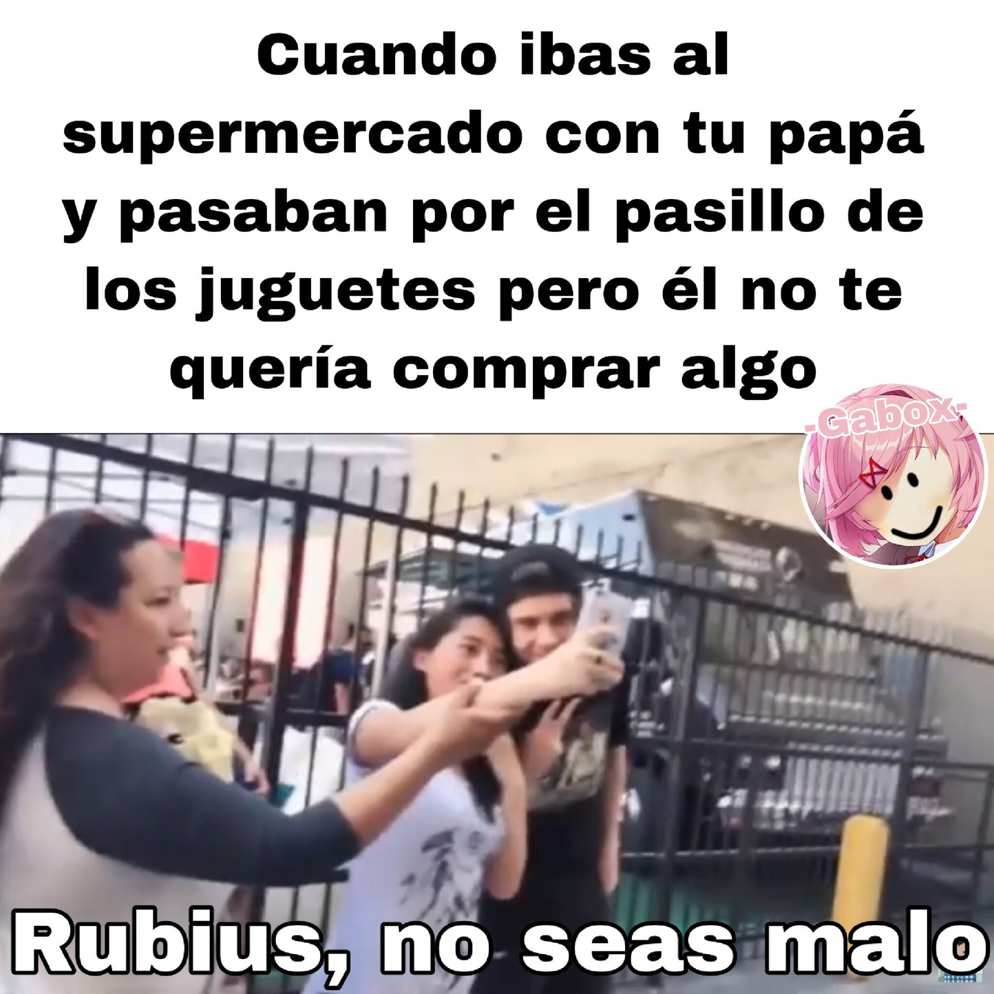 RuBiUs, No SeAs MaLo. - meme