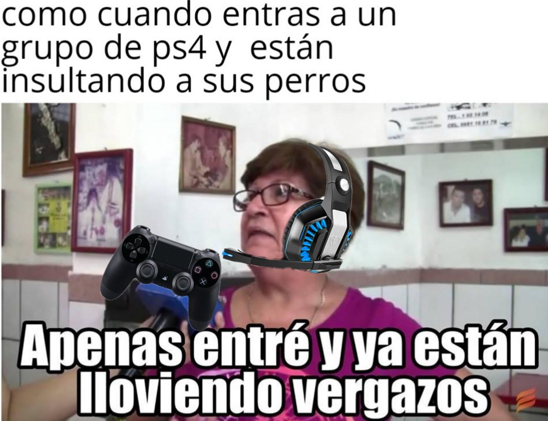 La viejita Gamer - meme