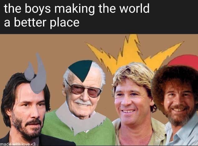 The perfect bois - meme