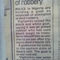 Goats using black magic?