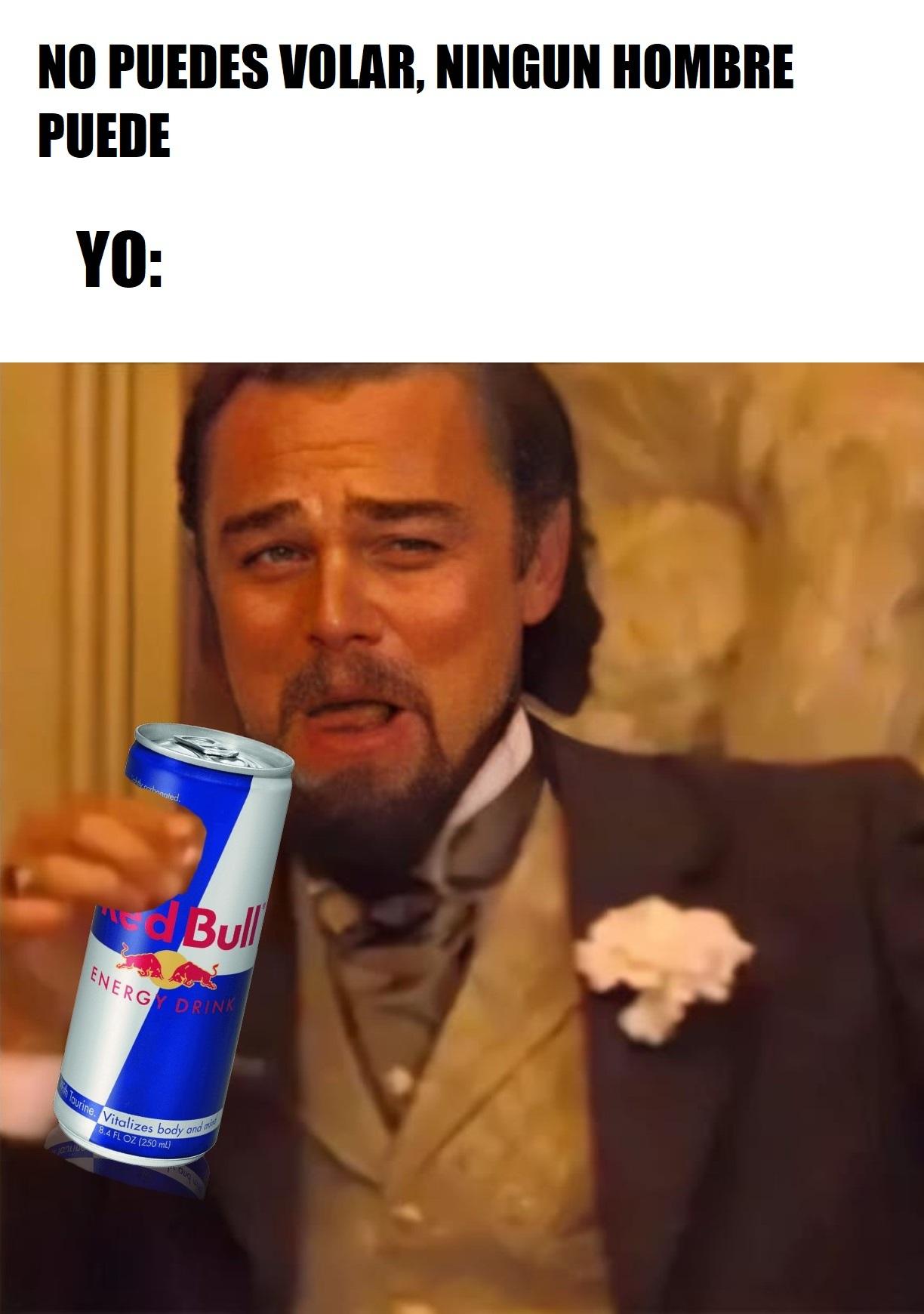 Red Bull Te Da Alas - meme