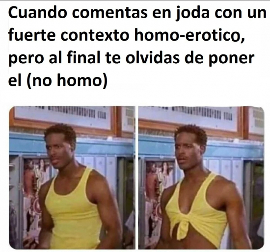 No homo - meme