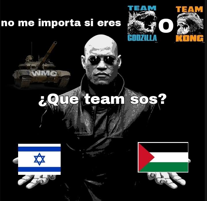 Palestina estado legitimo - meme
