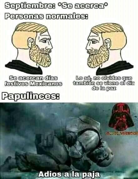 Papulinces de kk - meme