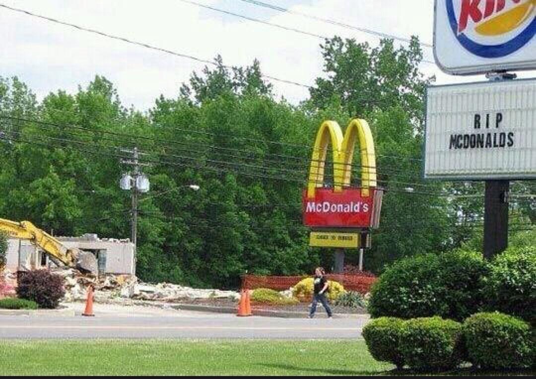 tant d'amour entre les fast food - meme