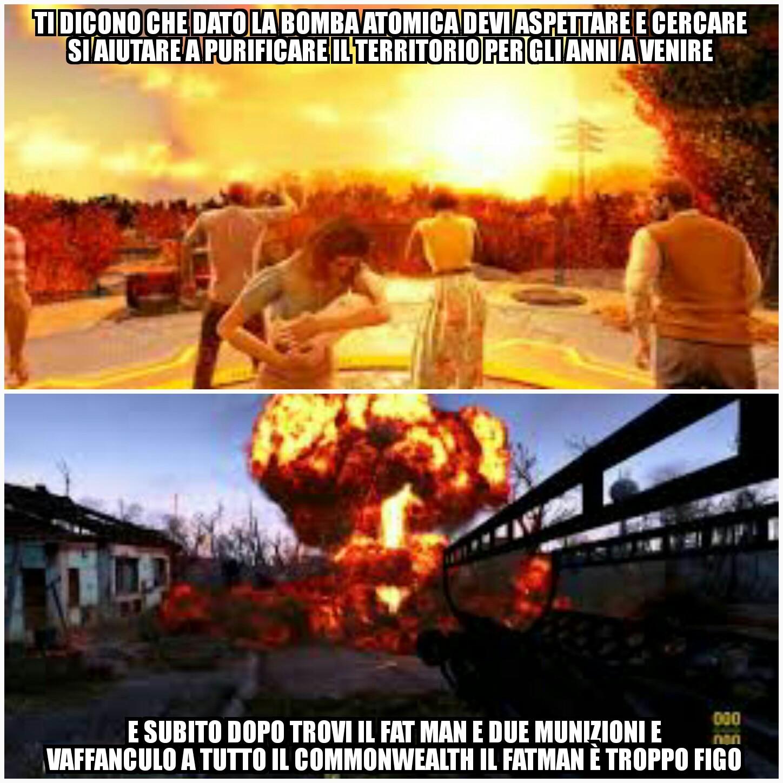 Fallout logic - meme