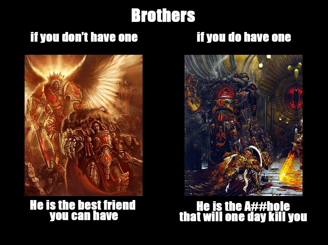 death to the Arch traitor Horus - meme