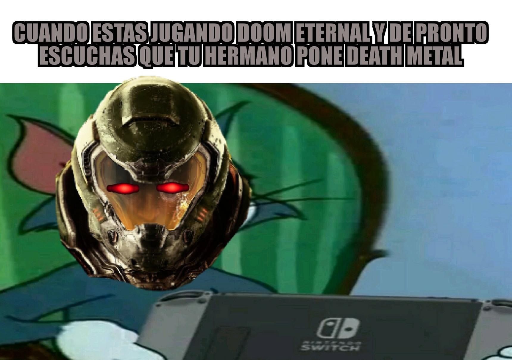 Ya no puedo esperar para que salga Doom eternal - meme