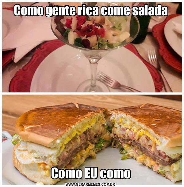 Salada? Bitch please - meme