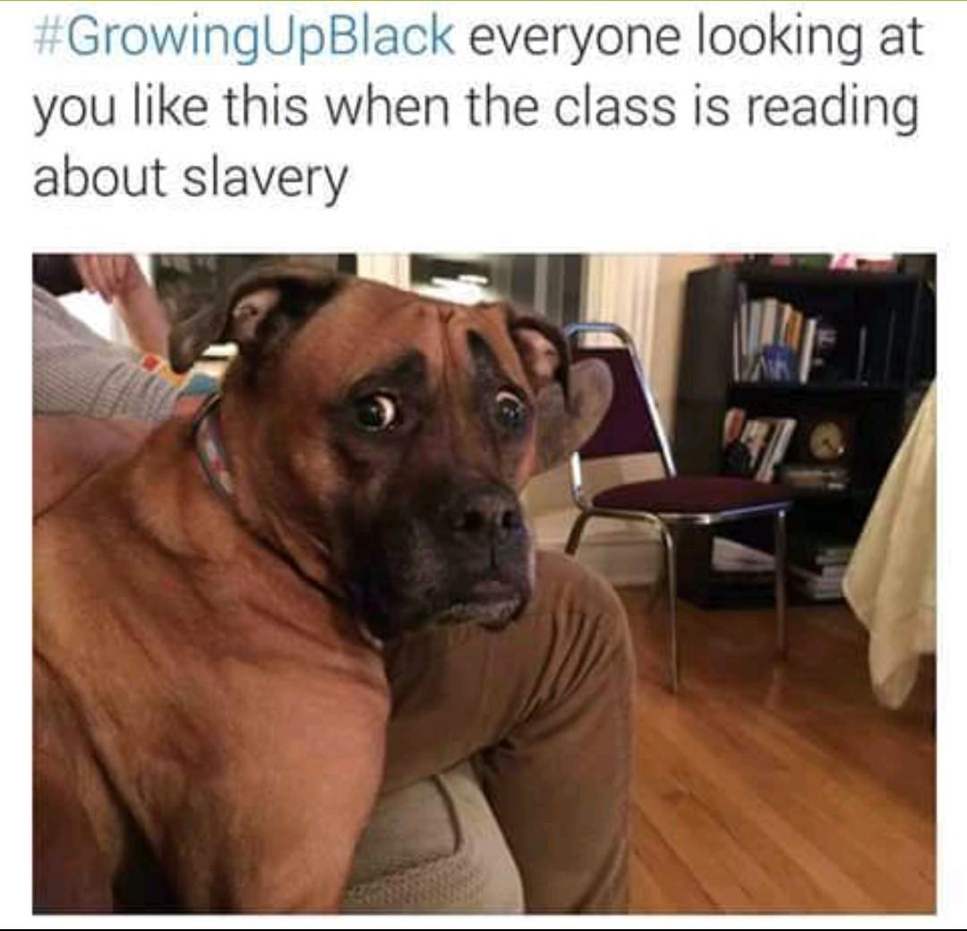 I am black - meme