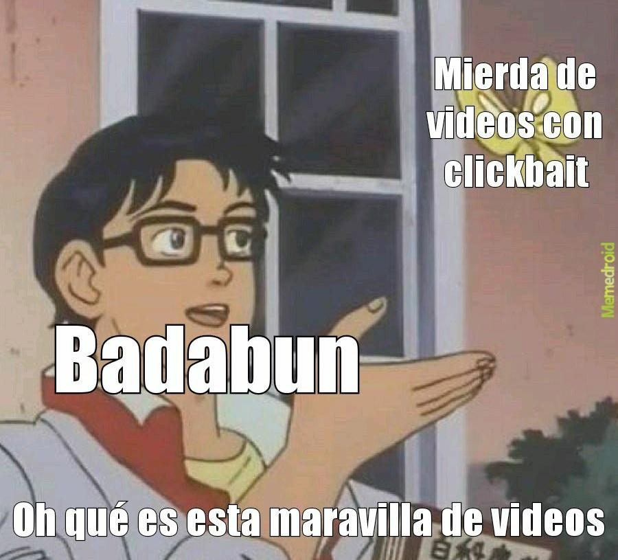 Badabun - meme