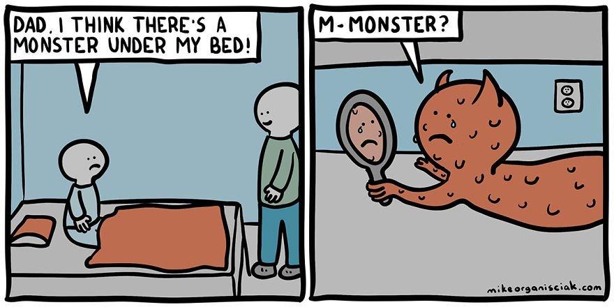 m-monster - meme