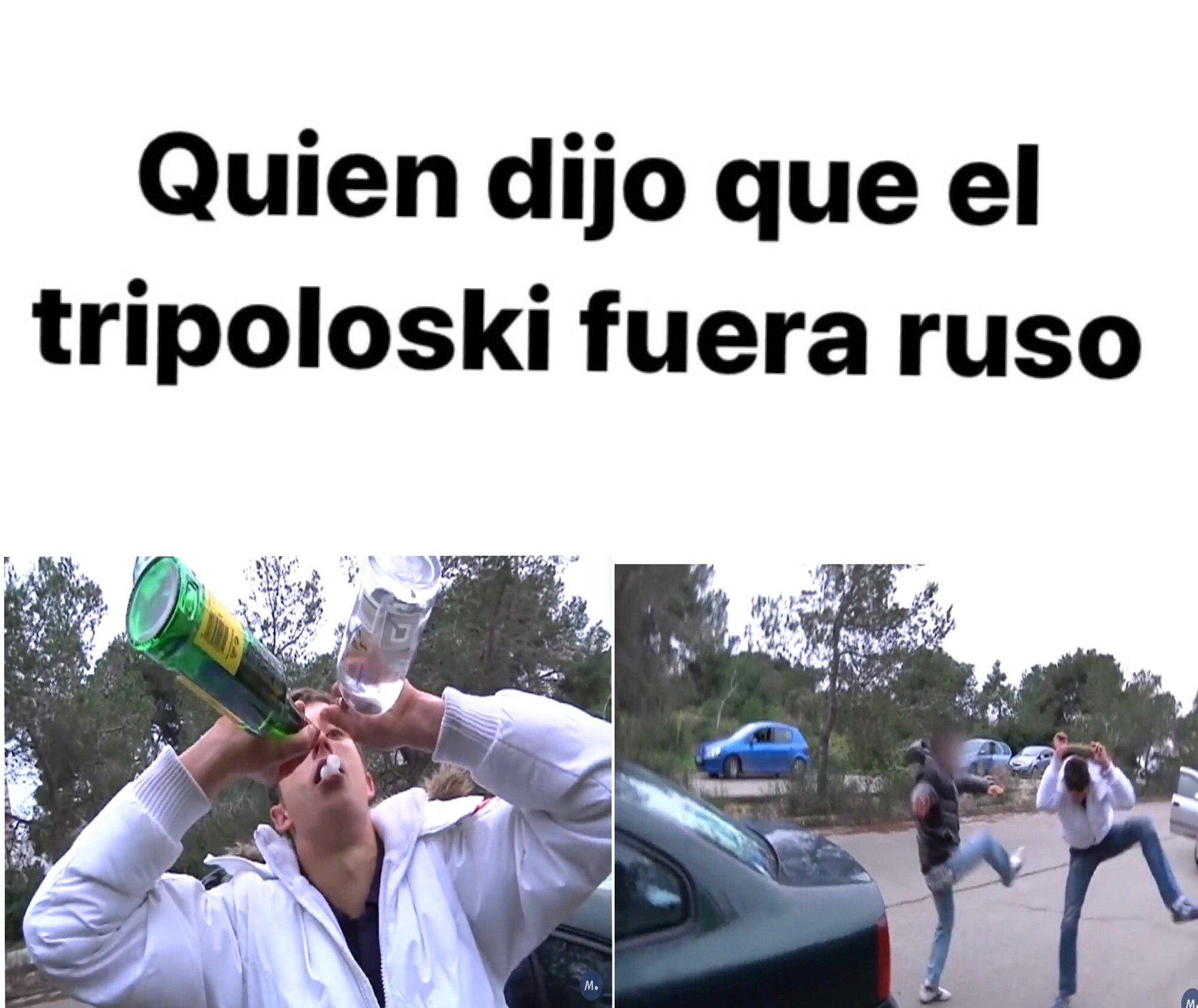 tripoloski español - meme