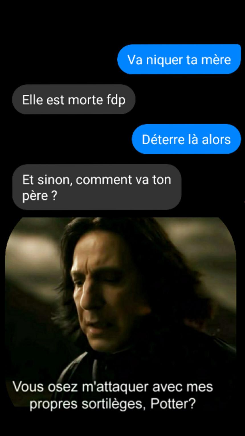 La violence - meme