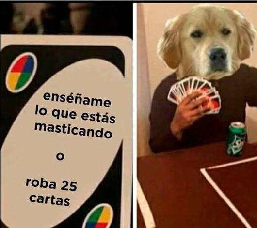 Tu perro en tang4 - meme