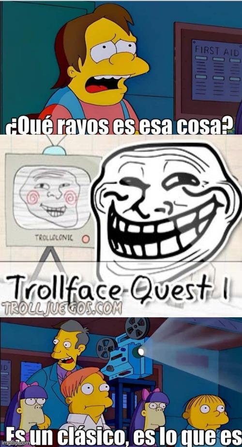 Trollface quest - meme