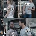 Suicide cockblock